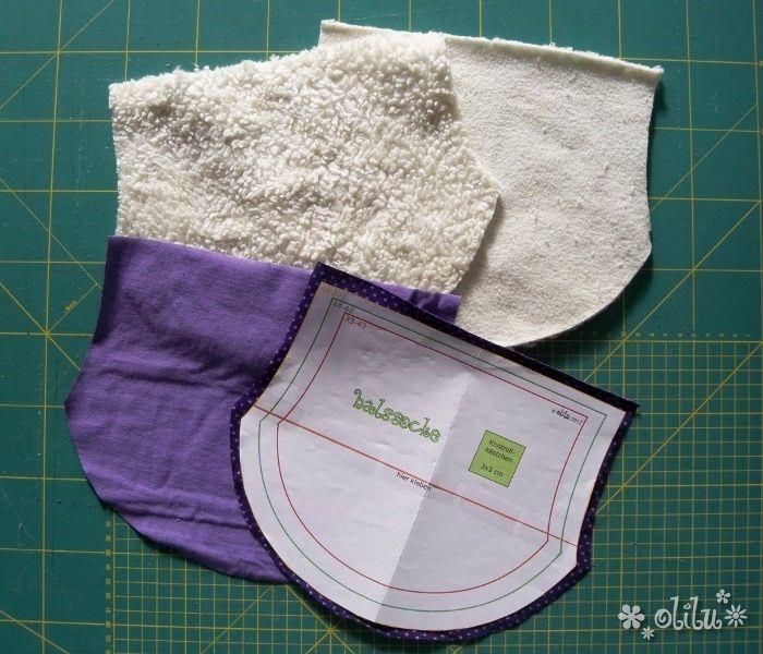 kinder halssocke // children scarf // tutorial and pattern // Schnittmuster und …