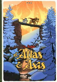 Saga d'atlas et axis,la t02