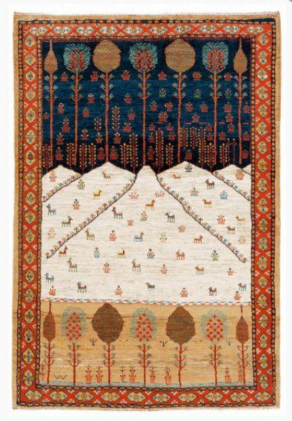 Gabbeh Or Bakshaish Prayer Rug