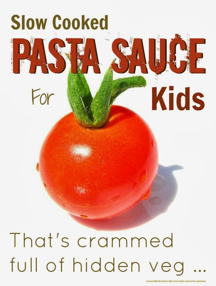 pasta sauce with hidden vegetables life hacks for busy mothers
