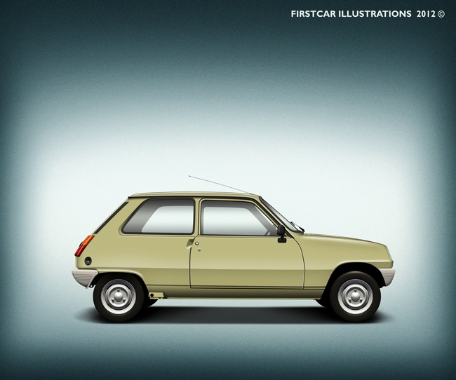 RENAULT 5 - 1979 #firstcar