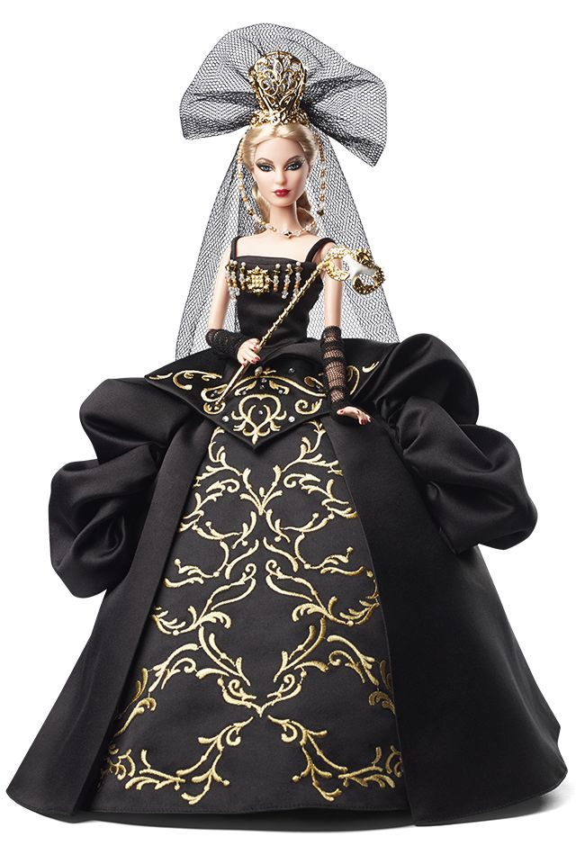 Collecting Fashion Dolls by Terri Gold: Queen of the Night, Venetian Muse Barbie!