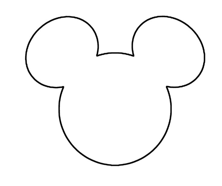 mickey mouse head shape template - 17 best images about party ideas on pinterest mickey