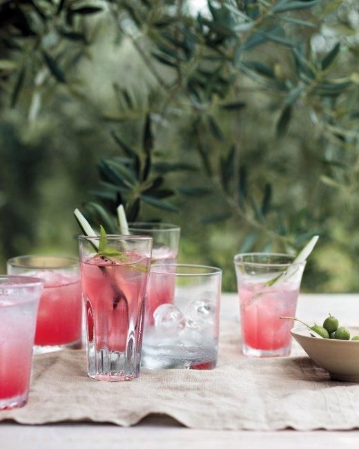 Watermelon-Cucumber Coolers Recipe