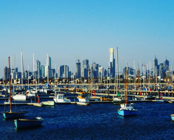 travelling... Port of Melbourne, Australia