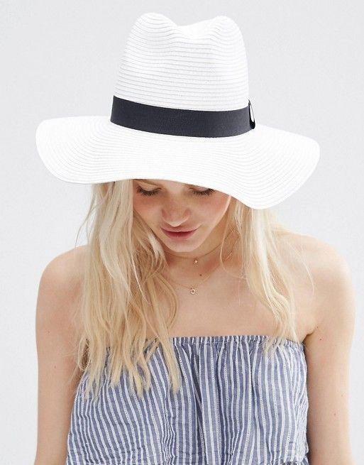 ASOS | ASOS Straw Fedora Hat