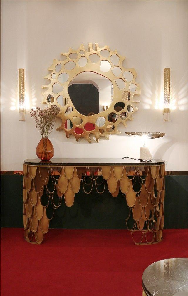 Erstaunliche Luxus Möbel Für Das Perfekte Wohndesign   Samt Polsterei    Messing Möbel   BRABBU Inspirationen