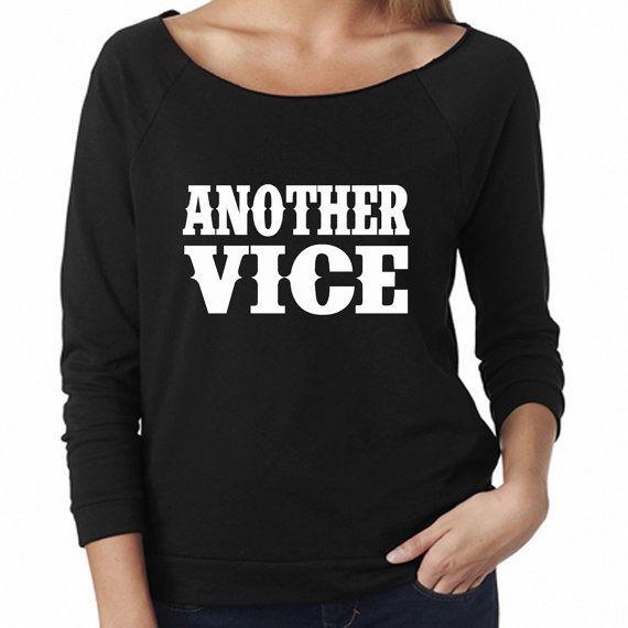 Another Vice Lightweight Sweatshirt. Scoop neck 3/4 sleeve. Miranda Lambert Shirt. Vice Shirt. Country Shirt. Country Sweatshirt. The weight of these wings by SouthernCharme