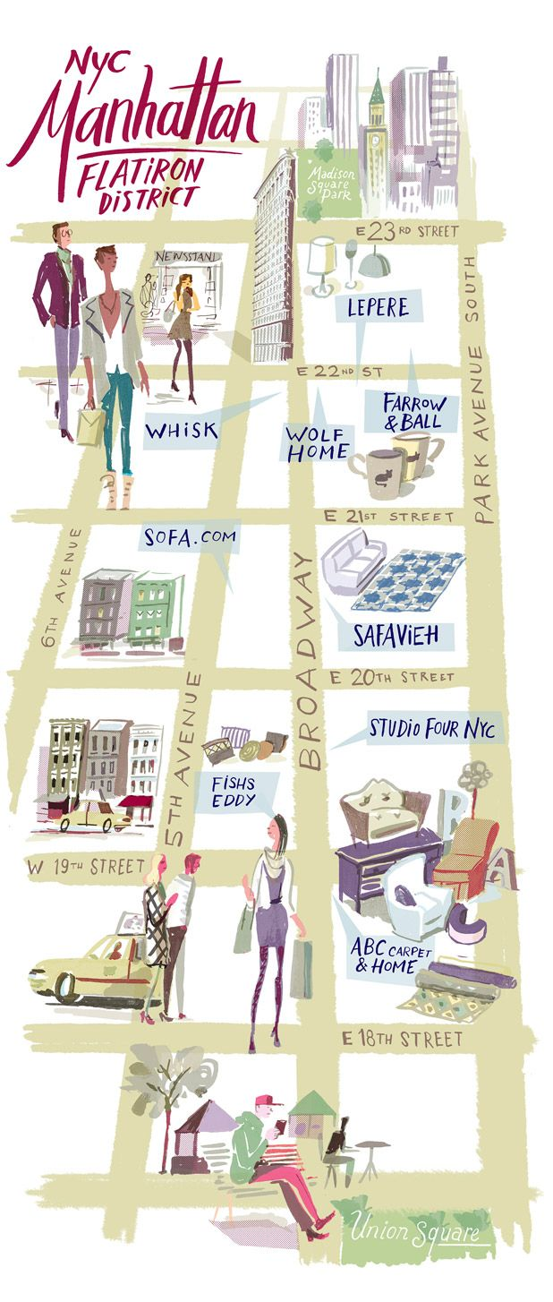 A guide to shopping in the Flatiron District.