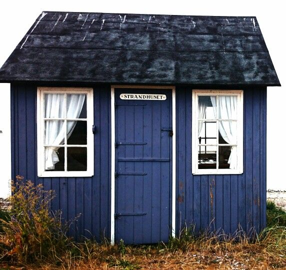 Little blue house. Aeroe, Denmark. Photograph: Niki of my scandinavian home blog.