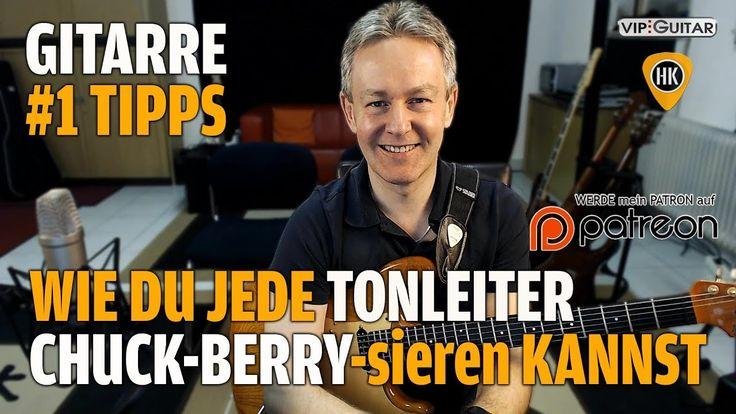 Wie du jede Tonleiter Chuck Berry mäßig spielen kannst - Gitarren Hacks ...