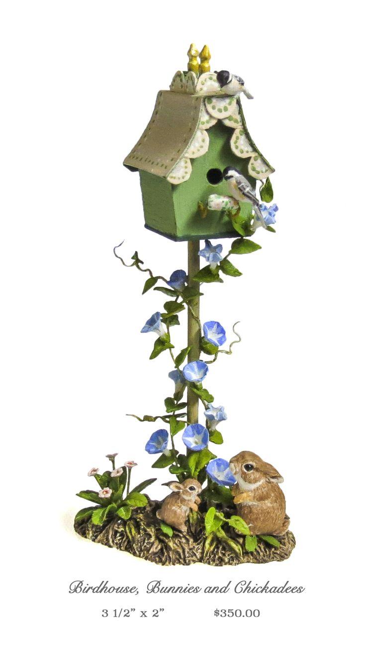 Mary McGrath bird house