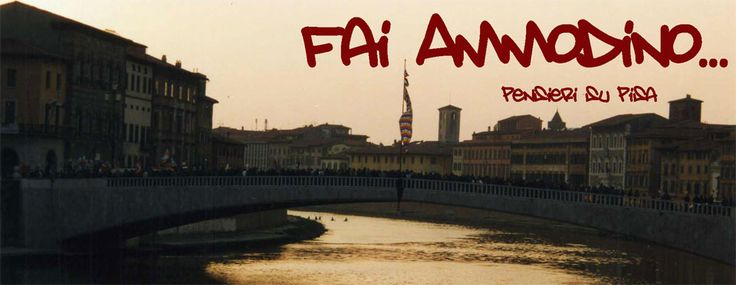 My blog about Pisa
