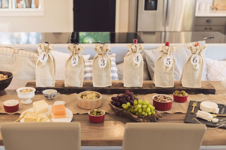 How to Host a Wine Tasting Party (with free printables!) | Jenna Sue Design Blog