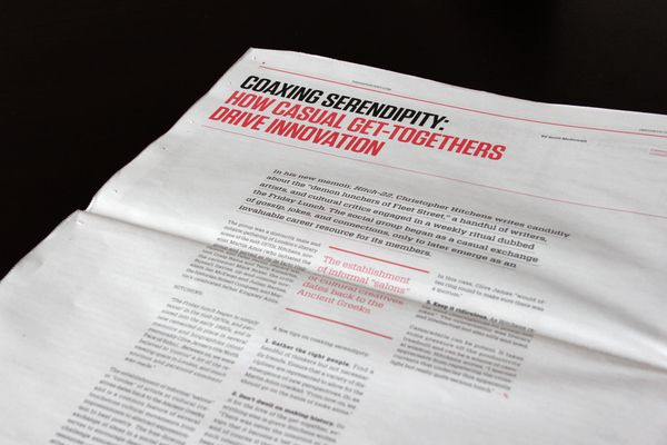99% Magazine 2011 by Matias Corea, via Behance