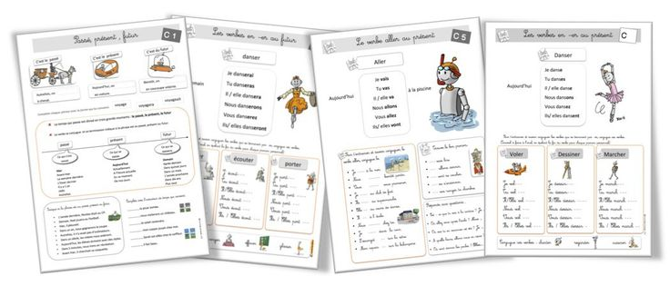 Les 12 meilleures images du tableau Grammaire : les verbes sur Pinterest | Affichage, Exercices ...
