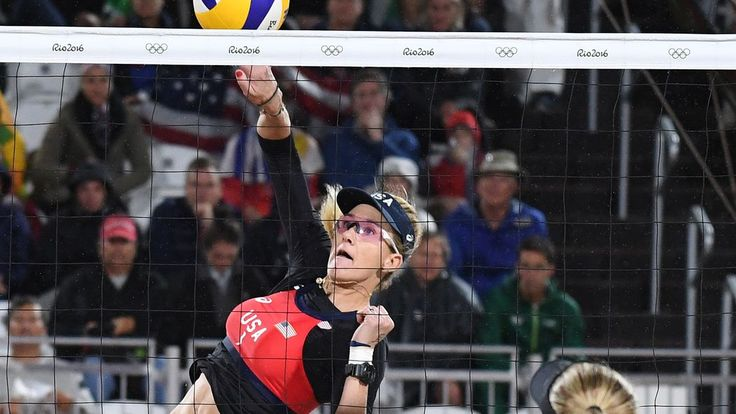 Kerri Walsh Jennings and April Ross has a quarterfinal matchup against Australia on Sunday night, trying to advance to the semifinal round of women's beach volleyball.