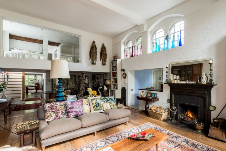 Converted 19th-century schoolhouse asks $3.1M in London - Curbedclockmenumore-arrow : The heritage-listed building was built in 1861