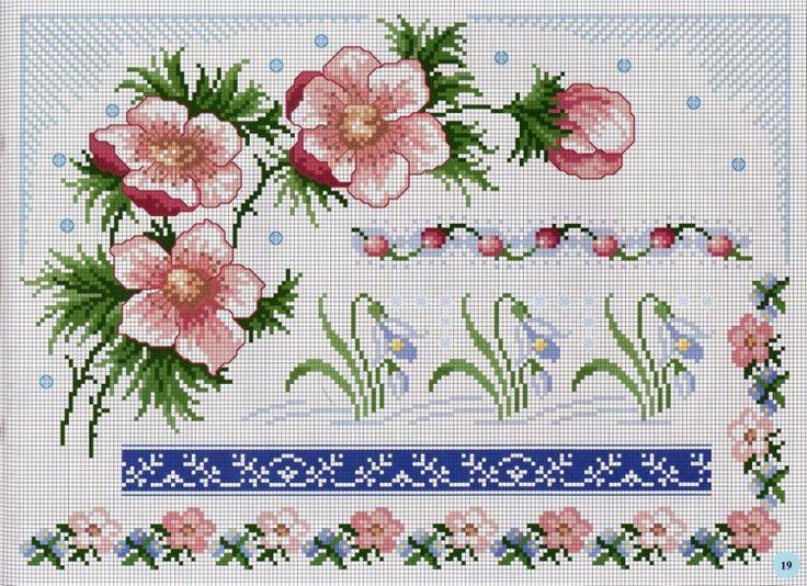Beautiful charts, but no color keys.  Gallery.ru / Фото #137 - BORDURY - KIM-2