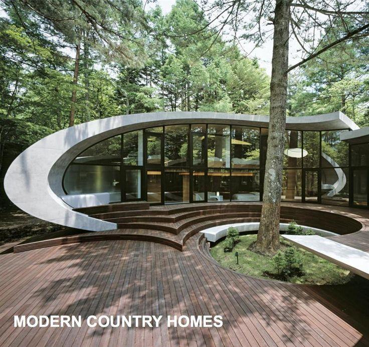 Modern Country Homes by Kolon Frenchmann