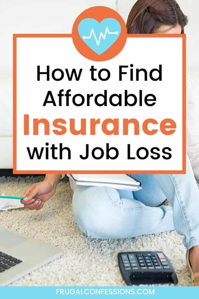 Health Insurance Without A Job Your Choices What We Did In 2020