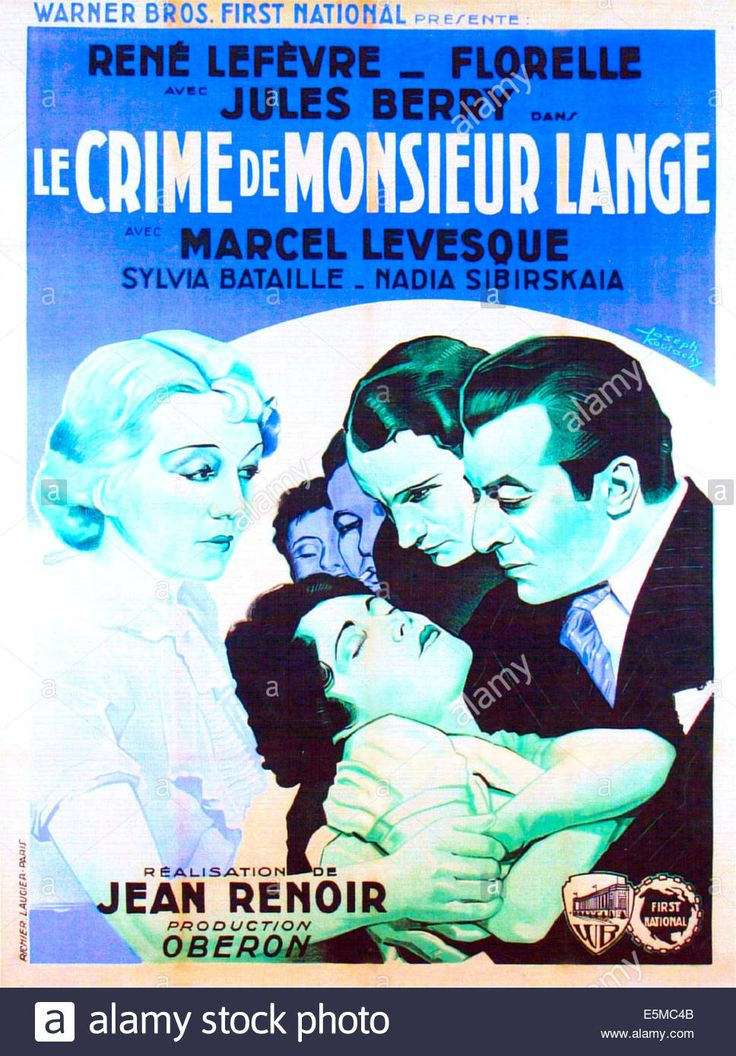 Movie of the Day: Le Crime de Monsieur Lange (Jean Renoir, 1936)