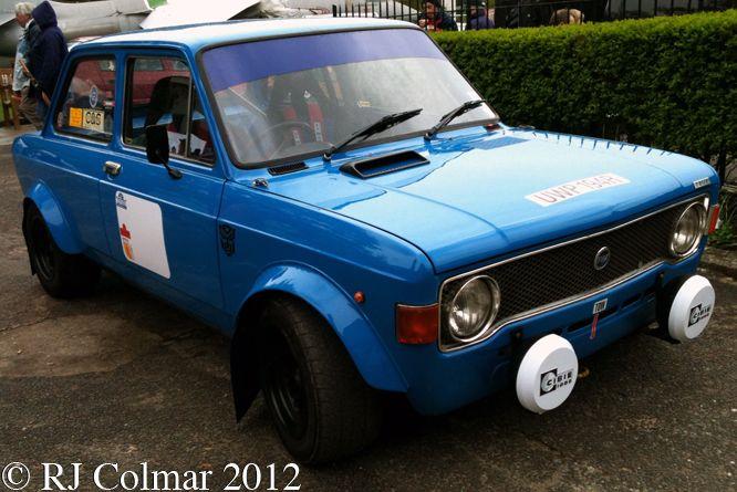 1976 Fiat, 128, Rally, Auto, Italia, Brooklands