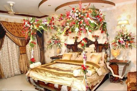 Beautiful bridal room decoration virtual university for Room design ideas in pakistan