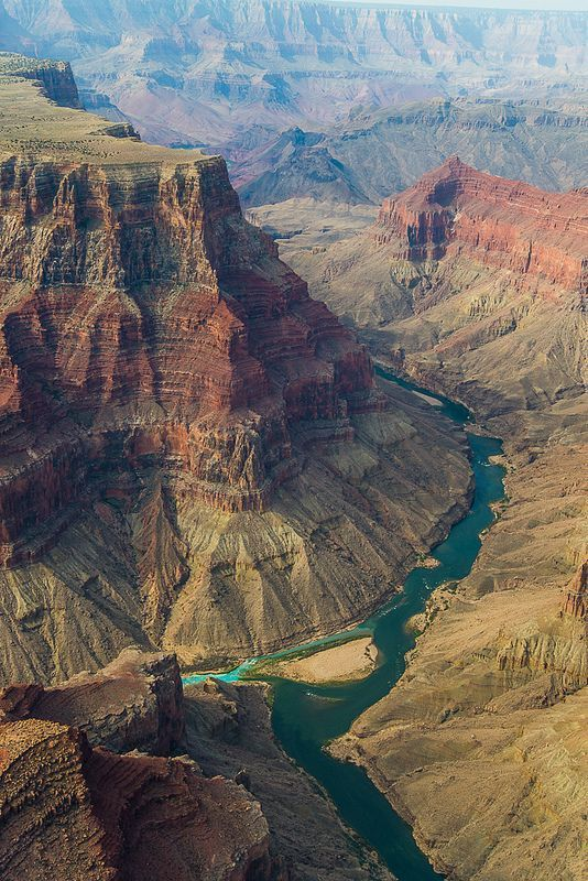 Want to bring my kids, asap!  Colorado River and little Colorado River, Grand Canyon, Arizona: