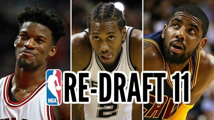 WATCH: 2011 NBA Re-Draft: Kawhi Leonard Jimmy Butler Klay Thompson Kyrie Irving #NBADraft