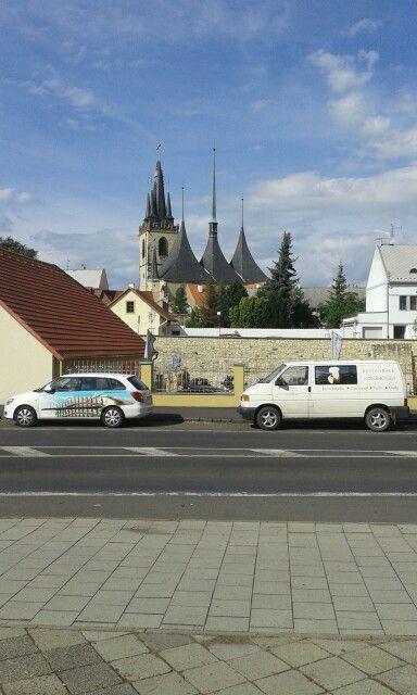 Church chrám svatého mikuláše from Louny.
