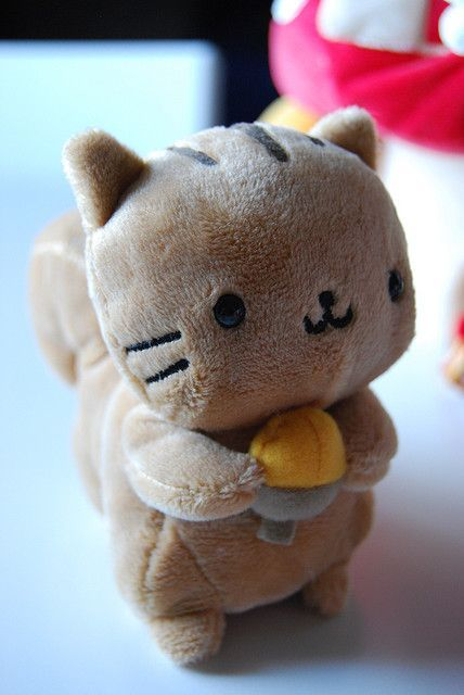 kawaii cute squirrel plush things thankful plushie stuffed animals very nyanko toys could stuff plushies flickr pillows tell would pink