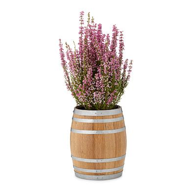 Look what I found at UncommonGoods: reclaimed whiskey barrel planter... for $57.5 #uncommongoods
