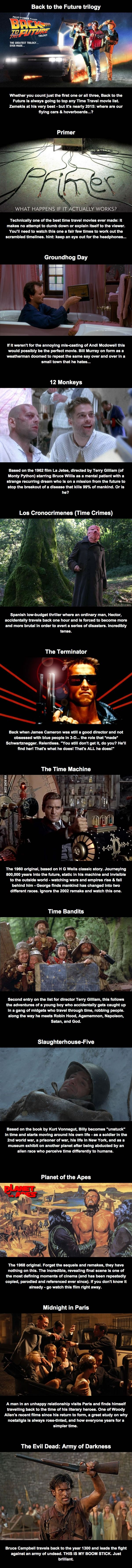 12 Of The Best Time Travel Movies