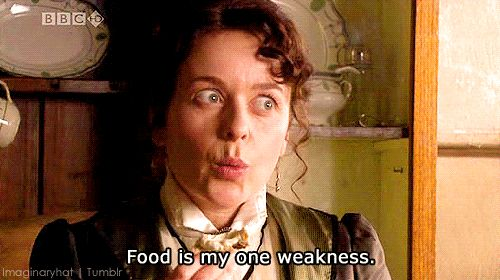 "Larkrise to Candleford. ""...my one weekness!"""