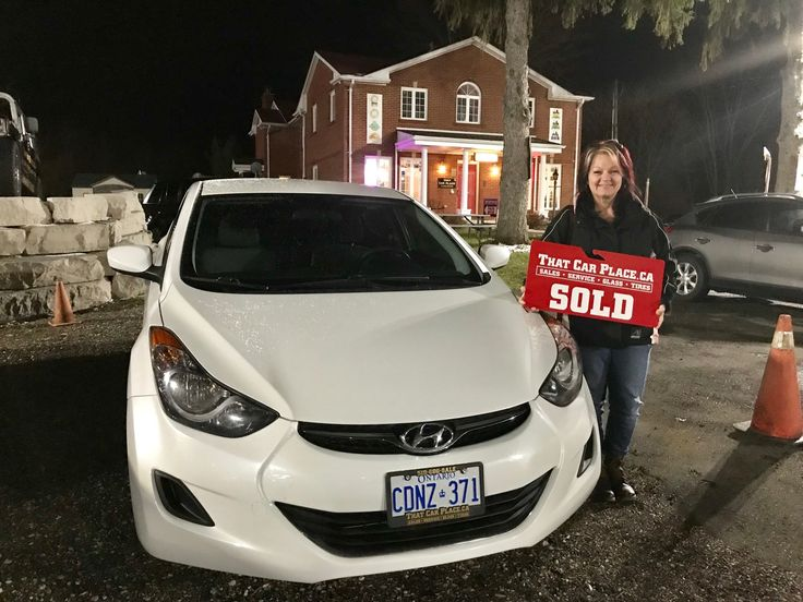 Congratulations to Robert Morgan and Tina Giangualano, on their purchase of this stunning Hyundai Elantra. Extremely nice car and even nicer people! www.thatcarplace.ca