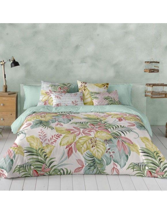 Funda Nórdica Laguna Naturals - Zoest Home Color Verde Claro, Comforters, Blanket, Spring, Bed, Nature, Furniture, Home Decor, Flower Designs