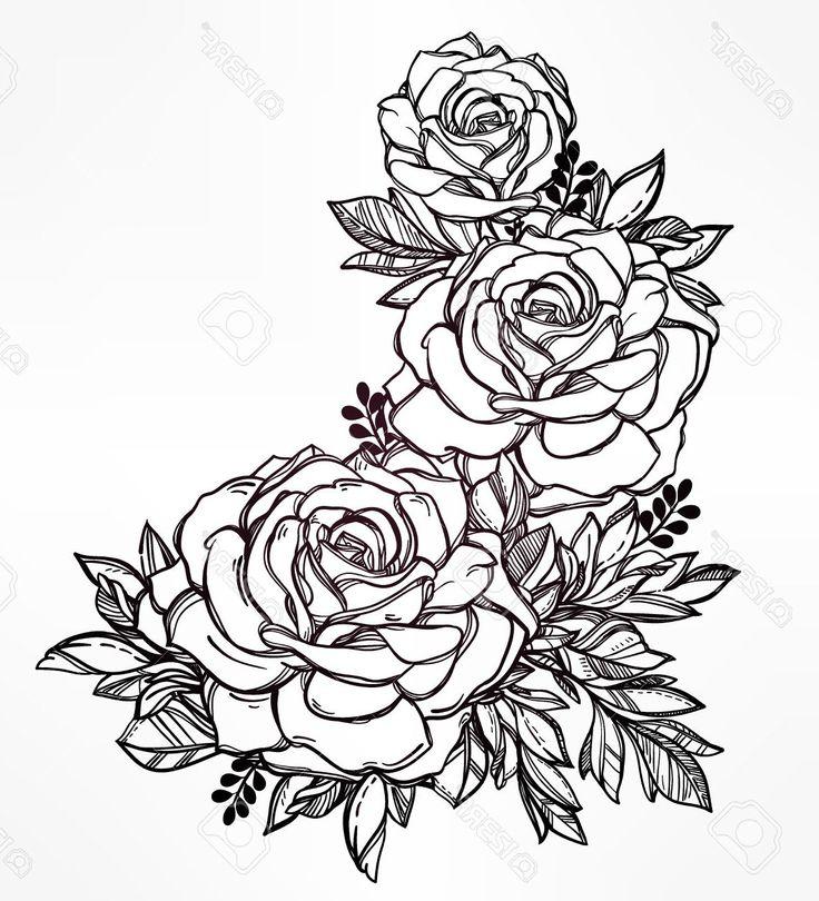 dibujos-para-colorear-de-rosas-bonitas.jpg (1181×1300)