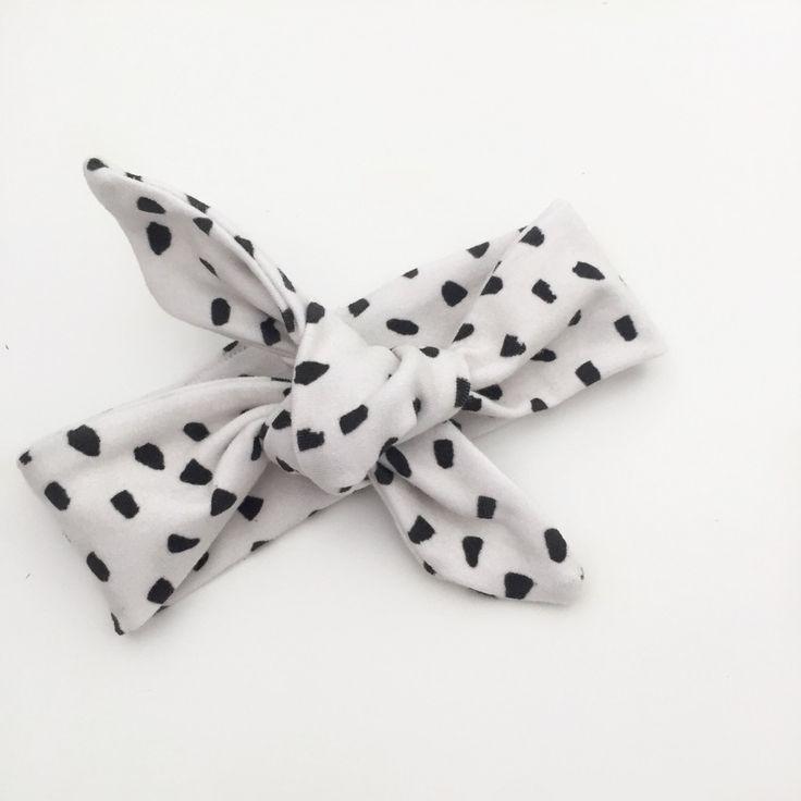 Baby Headband, Baby Topknot, Toddler Headband, Toddler Topknot, Topknot Headband - Mini Paint Spots in Natural / IN STOCK by LittleEskimo on Etsy https://www.etsy.com/au/listing/488519279/baby-headband-baby-topknot-toddler