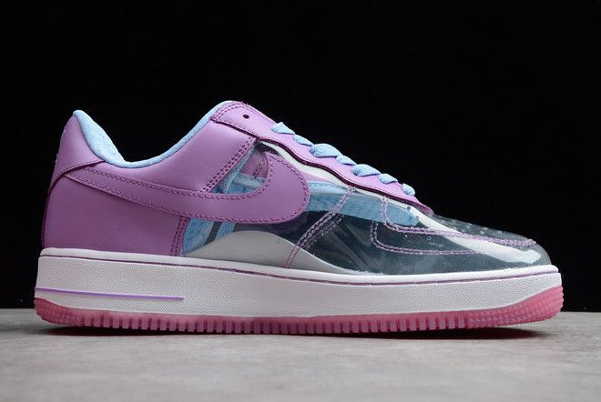 outlet store 9b5ed be65f Nike Air Force 1 Low Fantastic 4 Invisible Woman Purple 314791-951