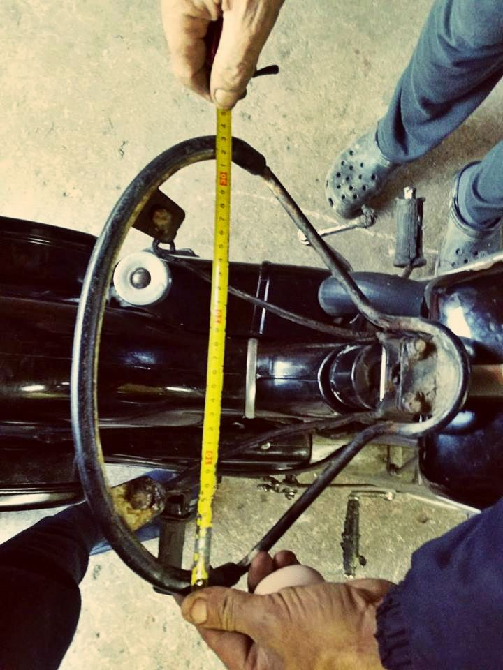 Starting the Project! Stripping out & measuring! #NSU #motorcycle #Restoration
