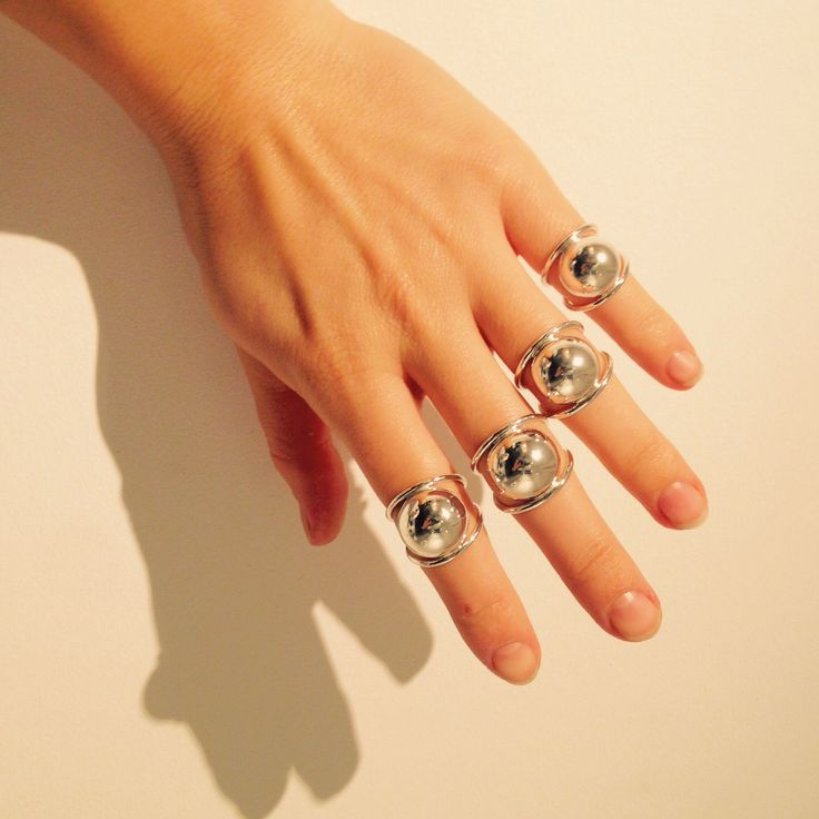 Made by Ella ARMOUR knuckle ring