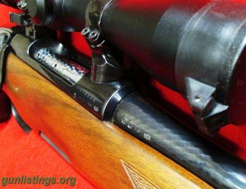 Rifles Steyr Mannlicher -- Luxus Mod. 243 Cal 308 W/ Leupold Var-X