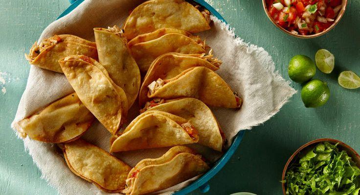 Petits tacos roulés