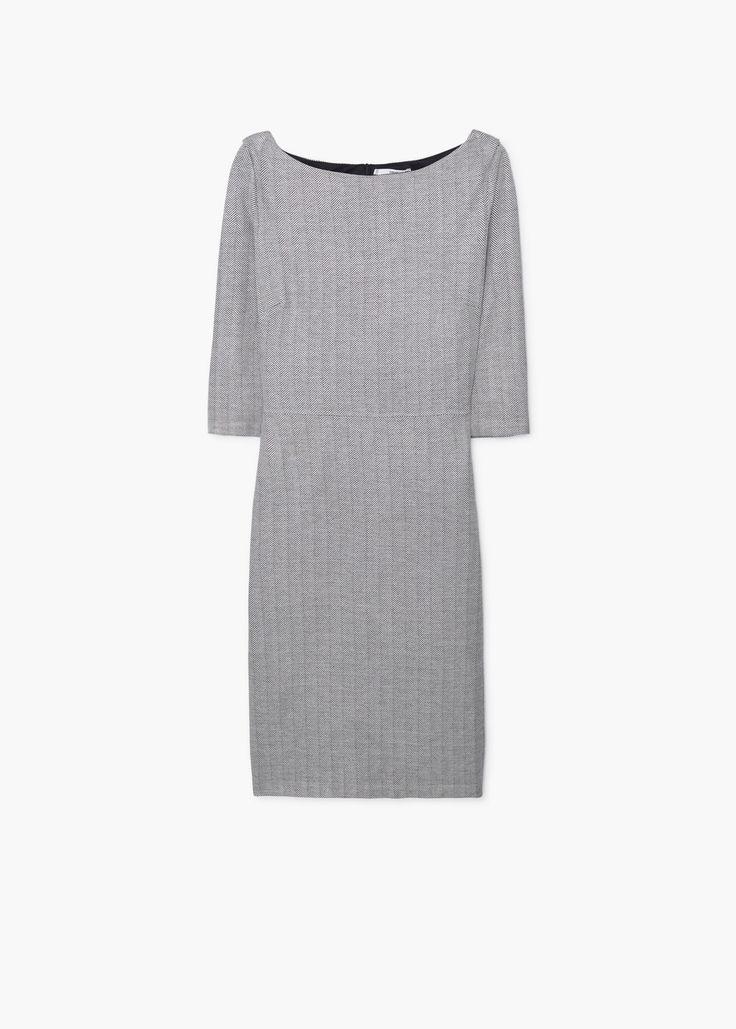 Облегающее платье - Платья - Женская | MANGO