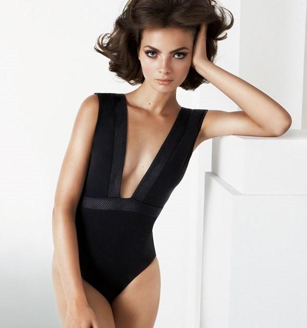 Elegant Women Monokini One Piece Swimsuit V-neck Backless Swimwear Bikini Sets