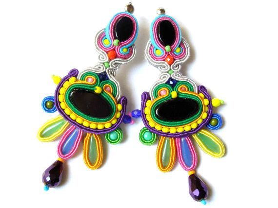 Soutache Earrings  Ruta