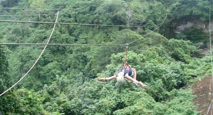 Zip Lining - Port Villa, Vanuatu ..One of the best things I've ever done!