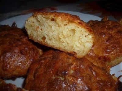 Кексы с яблоками, сыром и корицей