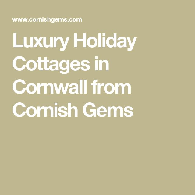 Luxury Holiday Cottages in Cornwall from Cornish Gems